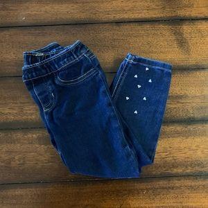 Carter's Little Girls Jeans.